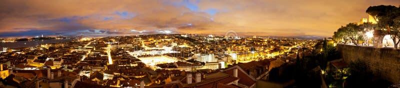 Lisbonne panoramique photo libre de droits