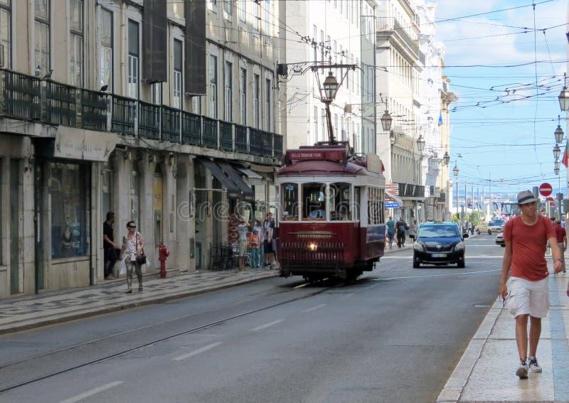 Lisbonne sur des roues images libres de droits