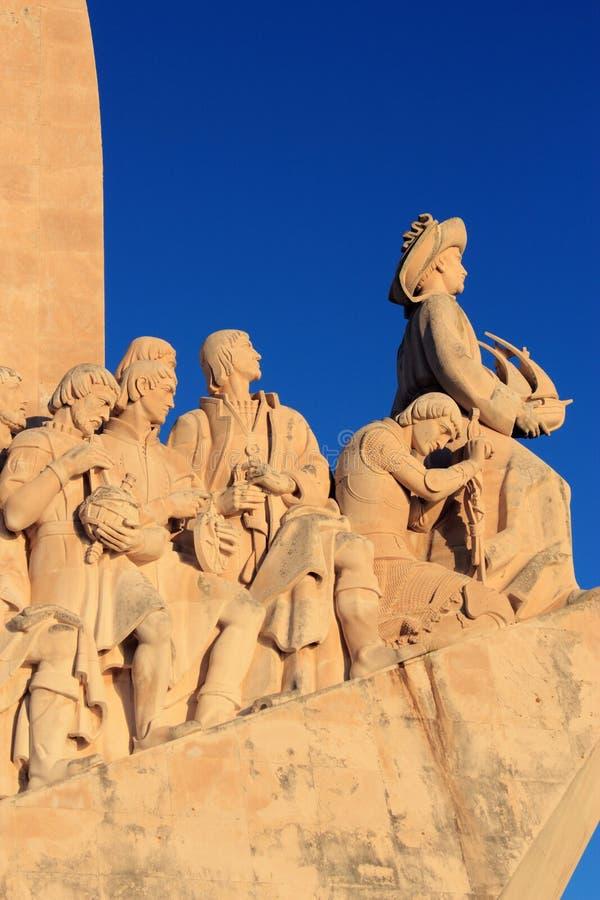 Lisbonne, voyages portugais de monument de la découverte photos libres de droits