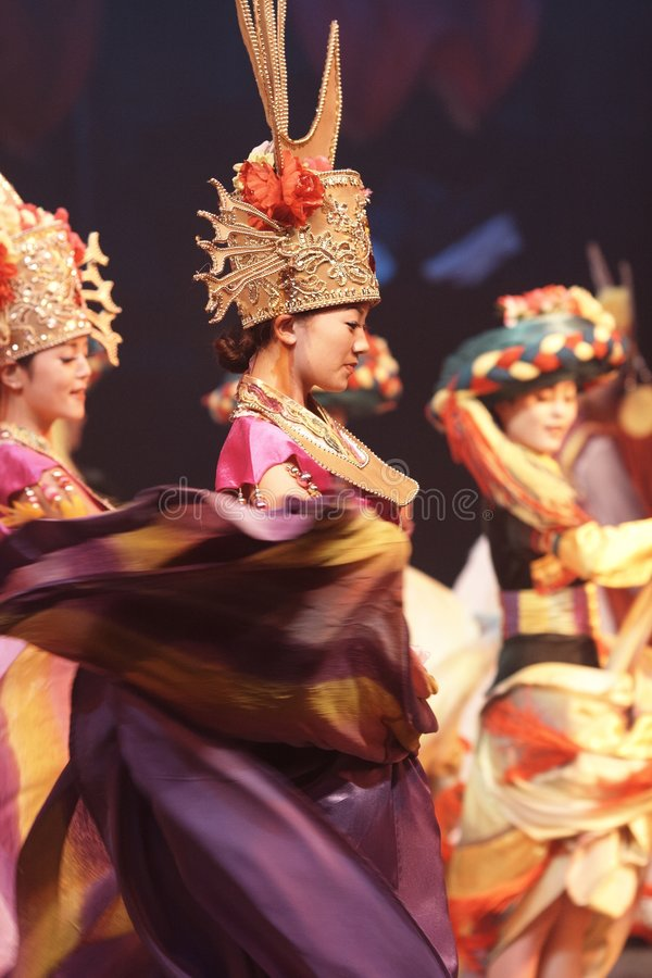 Download Lishui sands performance editorial stock photo. Image of beauty - 7543123