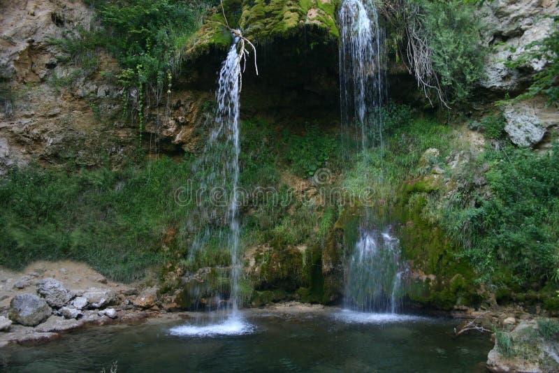 lisine wodospad Serbii obraz stock