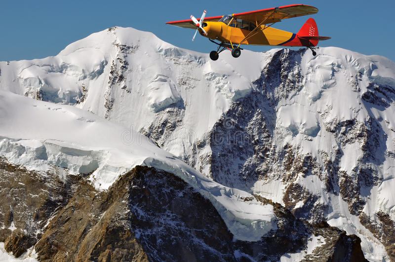 Download Liskamm and old plane stock image. Image of seeing, majestic - 16033273