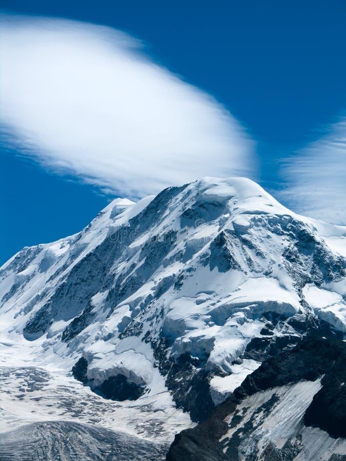 Liskamm in Switzerland Alps royalty free stock photo
