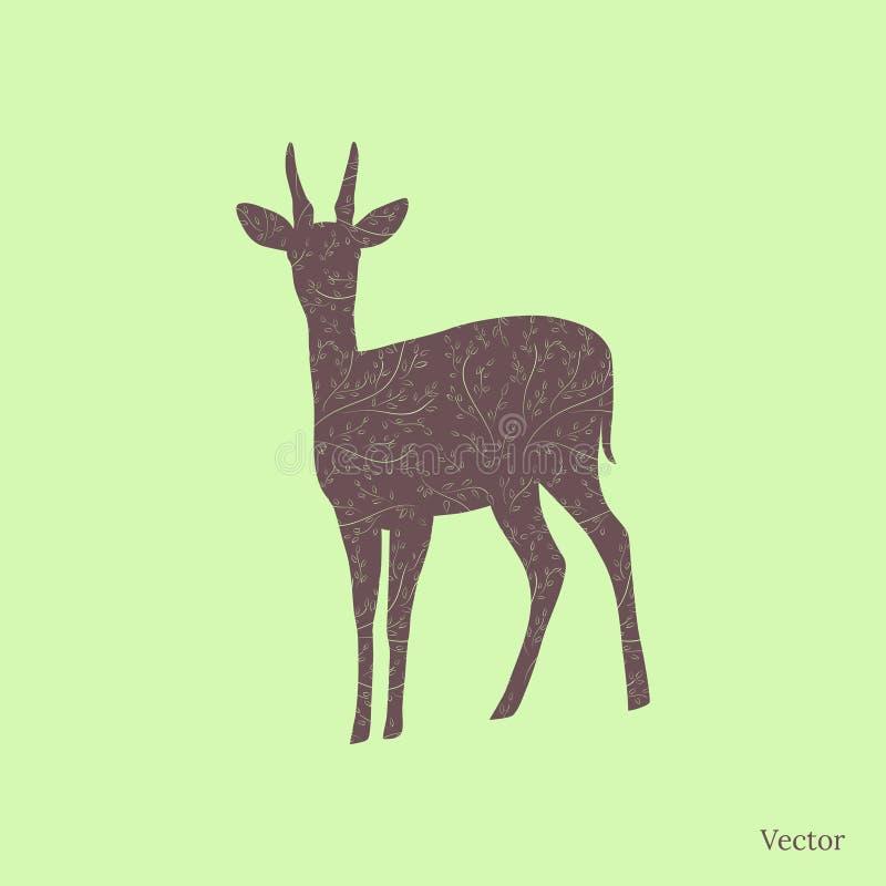 Lisma konturn vektor illustrationer