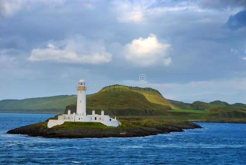Lismore Lighthouse on Eilean Musdile