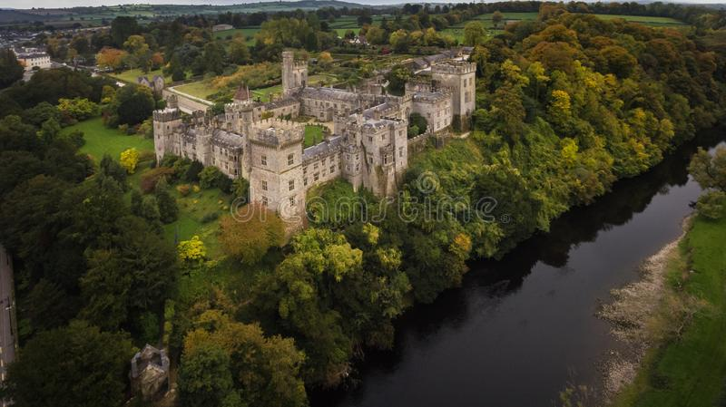 Lismore-Schloss Grafschaft Waterford irland stockbilder