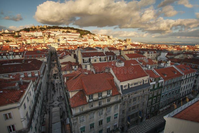 Lissabon-Ansicht lizenzfreie stockfotos
