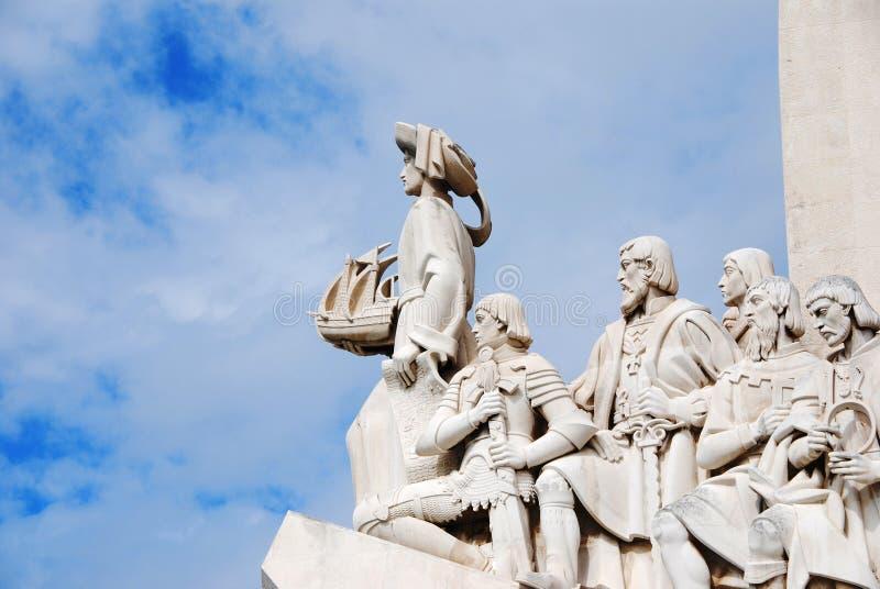Lissabon-Entdeckung-Denkmal stockfoto