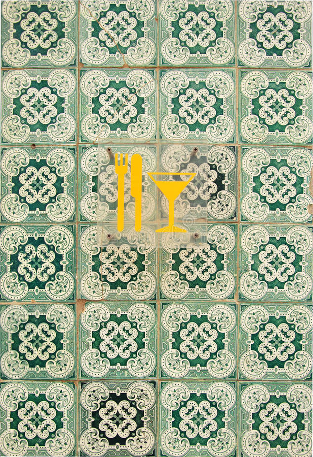 Lissabon-Fliesen lizenzfreie stockbilder