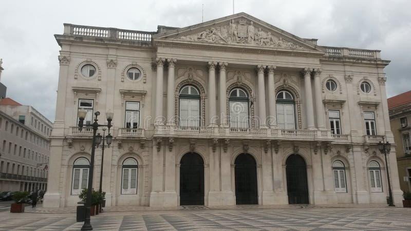 Lissabon kommunfullmäktige royaltyfri fotografi