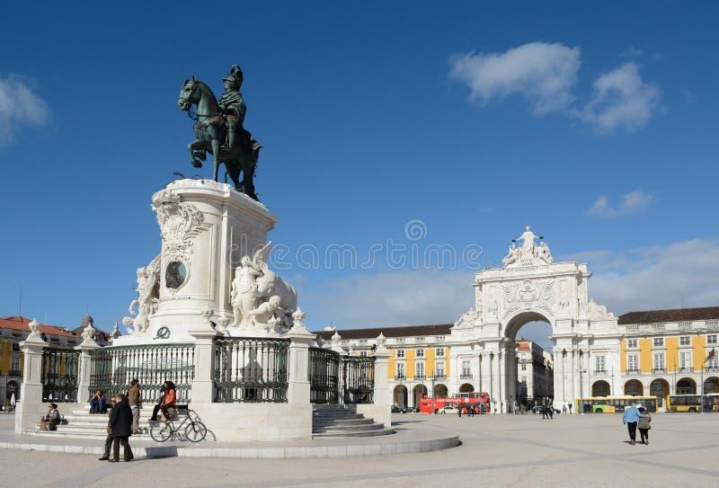 Lissabon Lissabon, Lissabon 8 royaltyfri bild