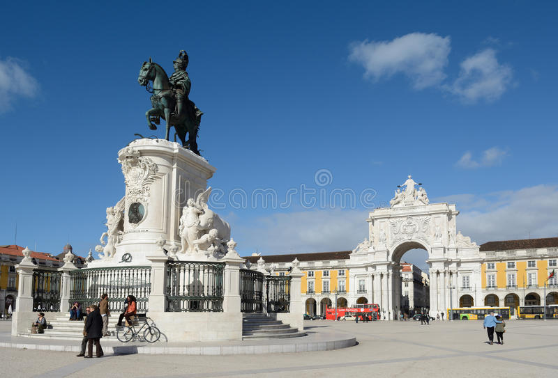 Lissabon, Lissabon, Lissabon 8 royalty-vrije stock afbeelding