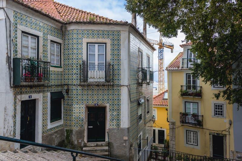 Lissabon in Portugal stock fotografie