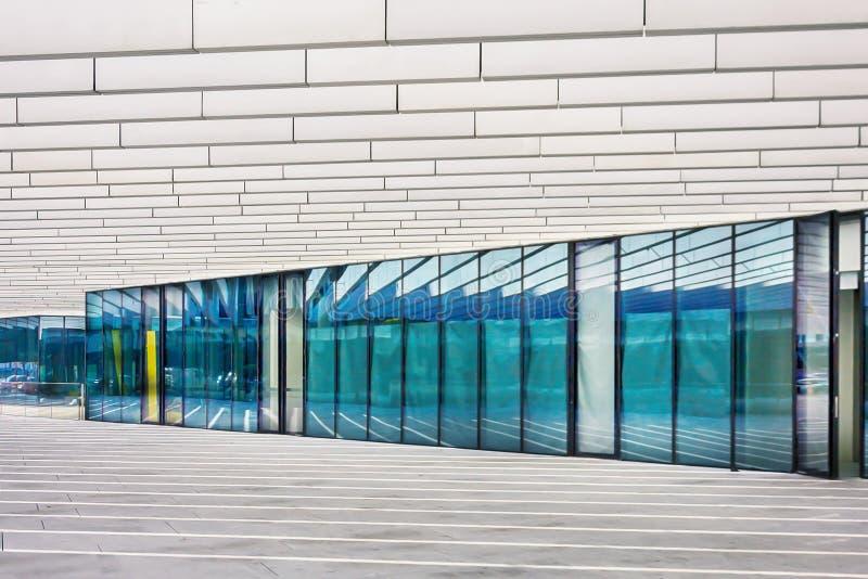Lissabon, Portugal 25. November 2017 Moderne Architektur EDV Portugiesischer Energiekonzern sonderkommandos lizenzfreies stockbild