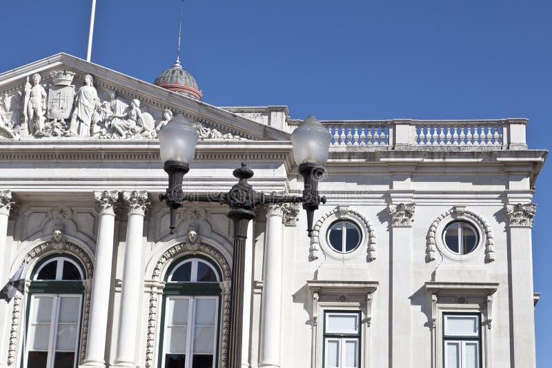 LissabonRathaus lizenzfreies stockfoto