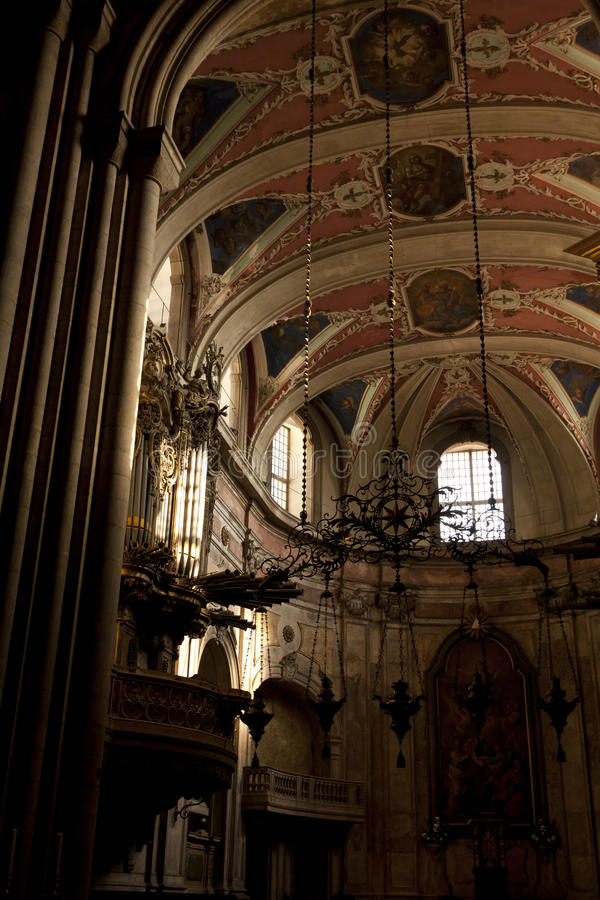 Lissabons Kathedrale lizenzfreie stockfotos