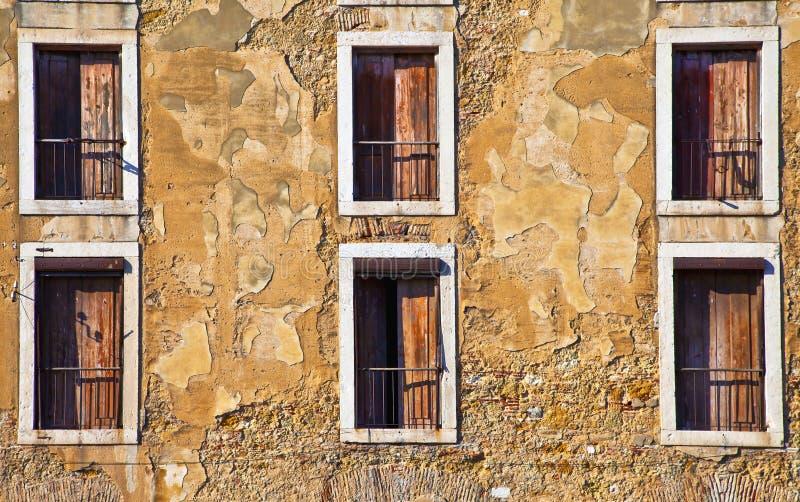 Lissbon Windows fotos de stock royalty free