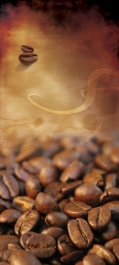 Lista clássica do café foto de stock