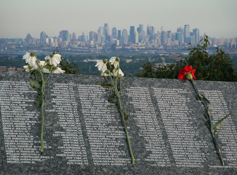 Lista delle vittime da 11 settembre 2001 fotografia stock libera da diritti
