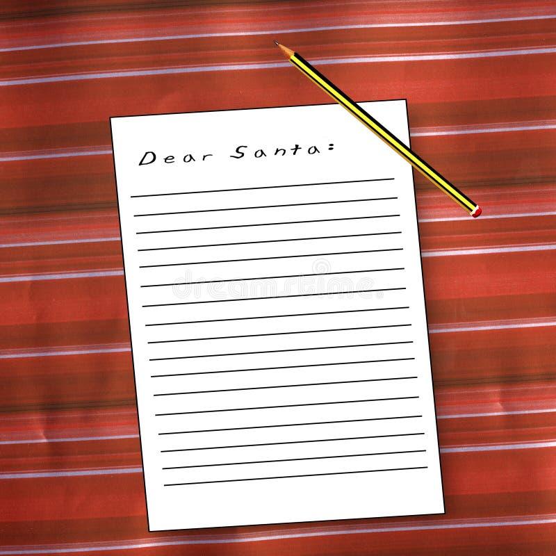Lista di obiettivi di Natale fotografie stock
