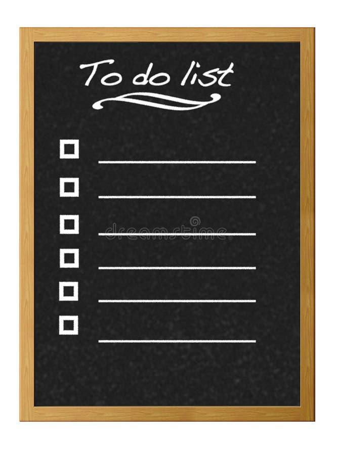 Liste. vektor abbildung
