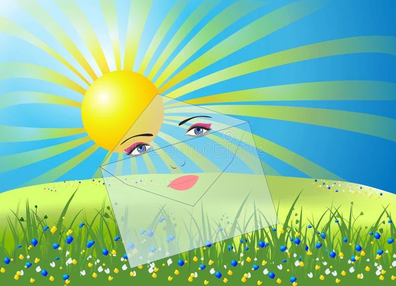 Liste di Sun royalty illustrazione gratis