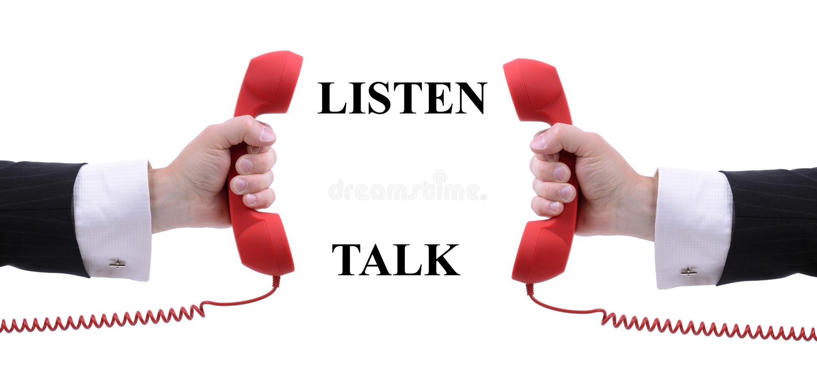 Download Listen And Talk Royalty Free Stock Image - Image: 34300406