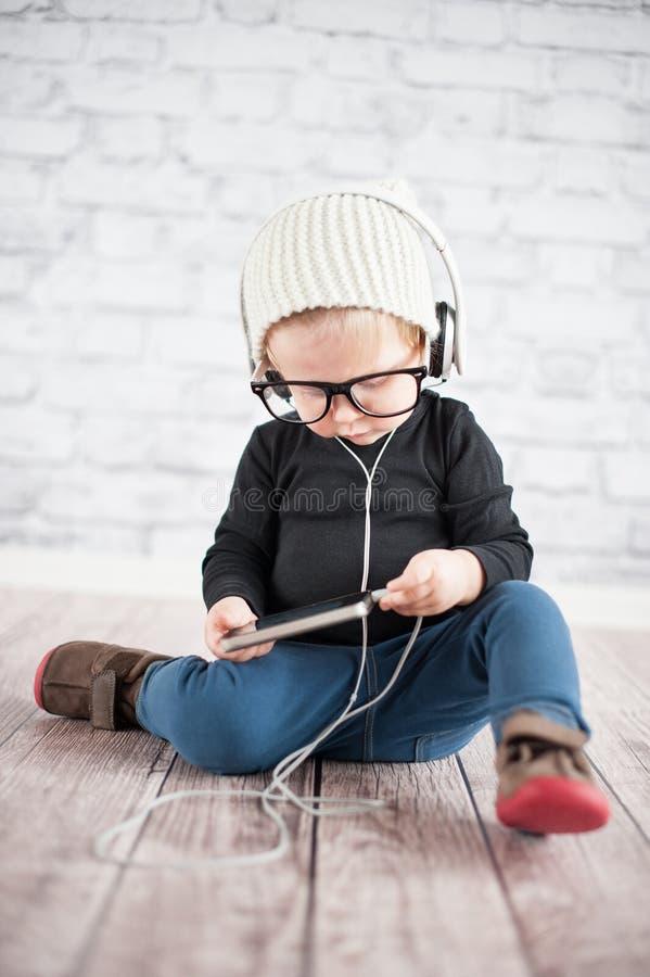 Download Listener stock photo. Image of headphones, fashion, beautiful - 39500144