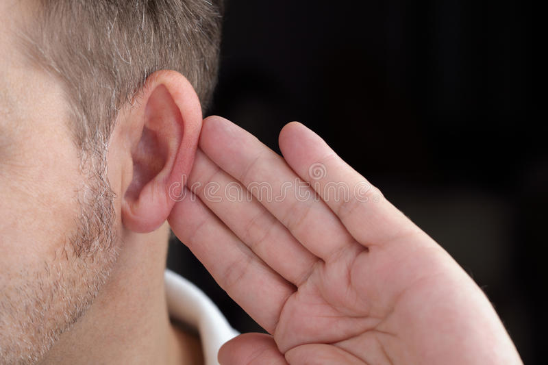 Download Listening stock photo. Image of up, perception, sign - 27661102