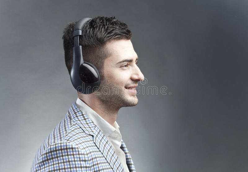 Download Listening music stock photo. Image of feel, listening - 25473080