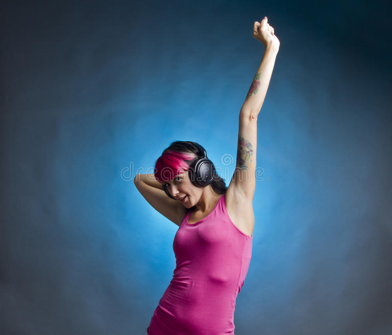 Download Listening Music Stock Photography - Image: 27716742