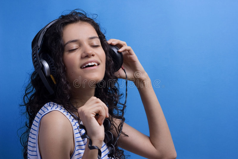 Download Listening music stock image. Image of dancer, hear, enjoy - 2910037