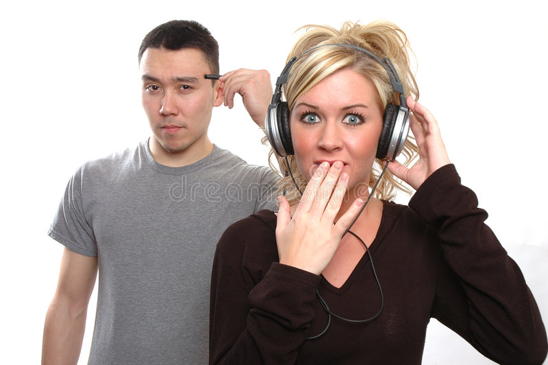 Listening To Minds Royalty Free Stock Photos