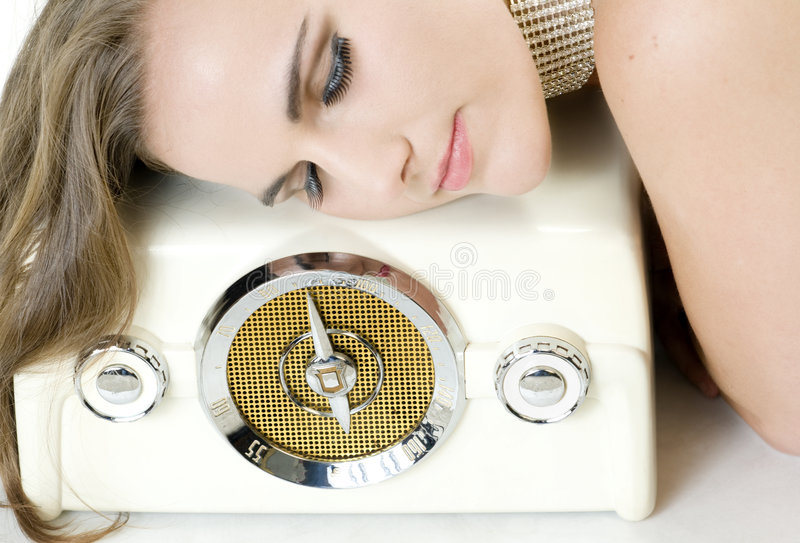 Download Listening to Music stock photo. Image of hearing, false - 9220936