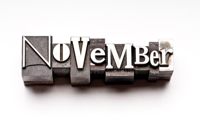 listopad obrazy stock