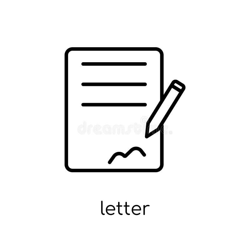 Listowa ikona  royalty ilustracja