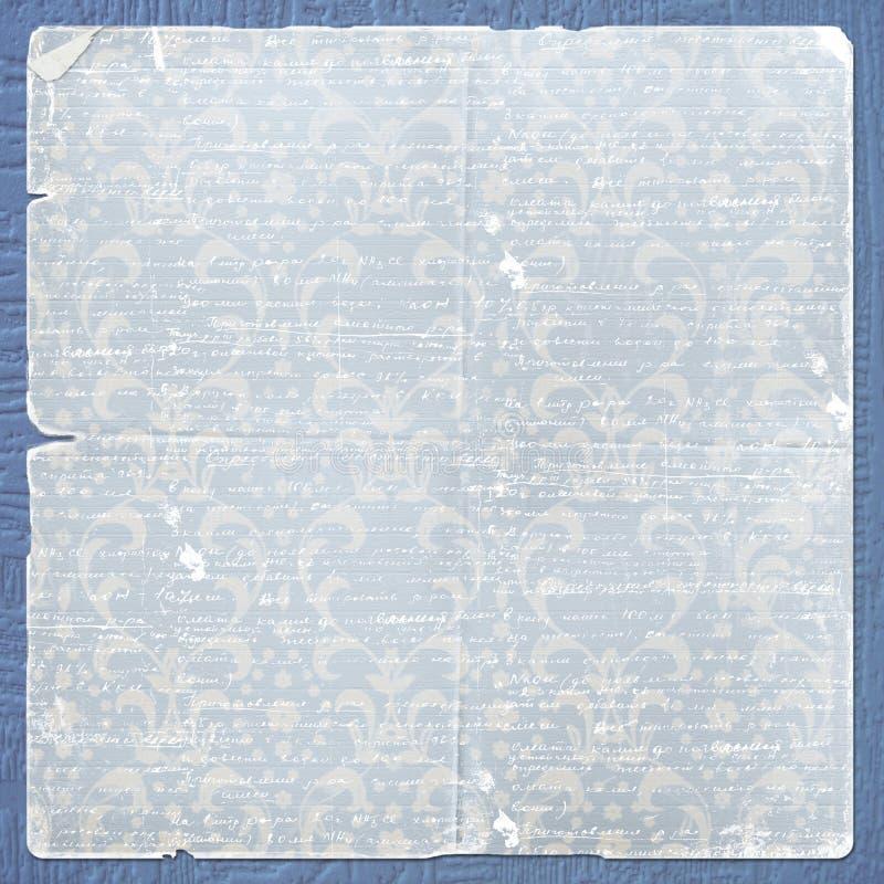 listowy projekta alienujący papier zdjęcie royalty free