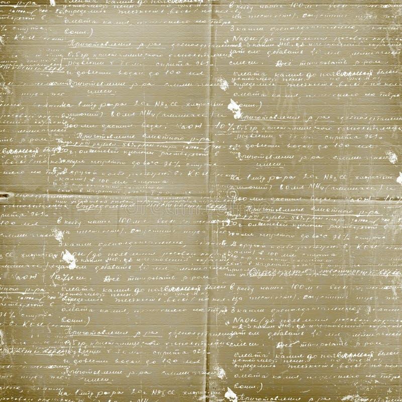 listowy projekta alienujący papier fotografia stock