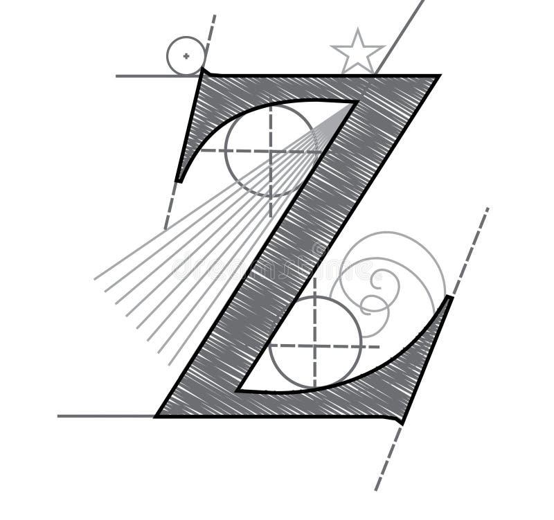 listowy z ilustracja wektor