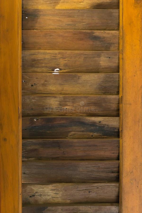 Listra o fundo de madeira velho imagem de stock royalty free