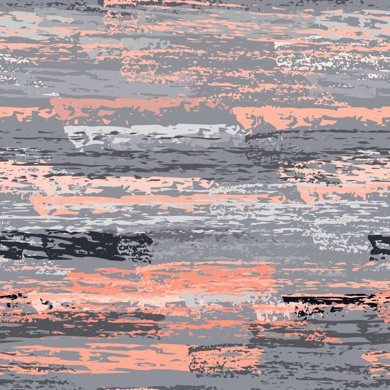 Listras afligidas Superfície das texturas do giz ilustração stock