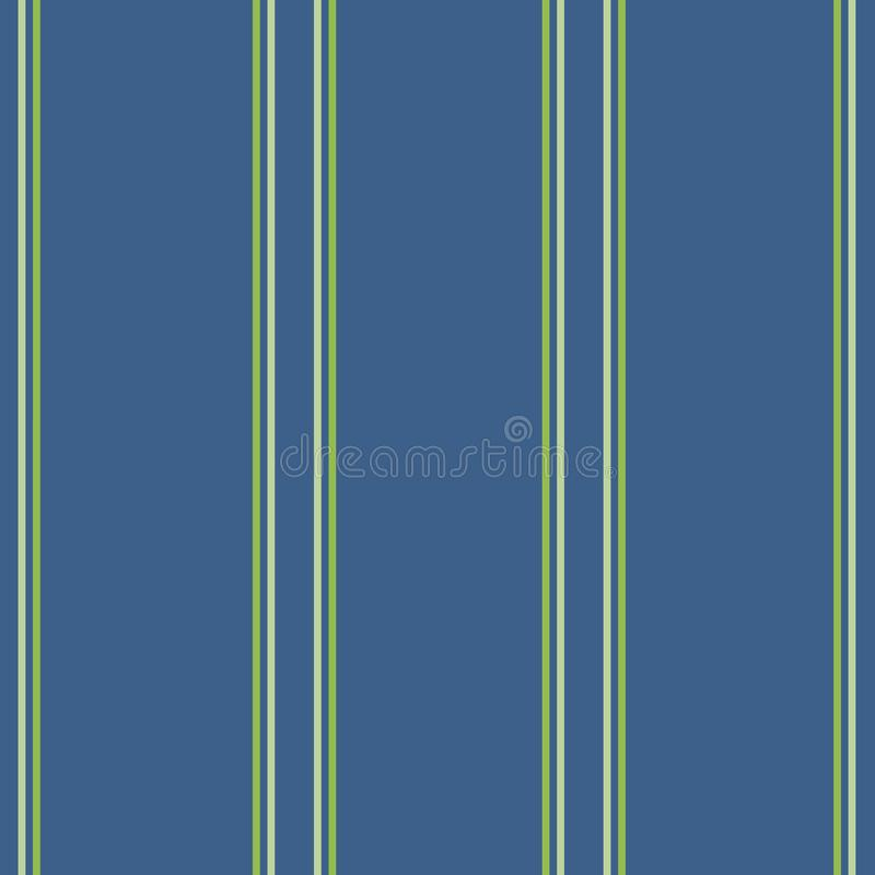 Listras azuis clássicas na obscuridade - azul ilustração stock