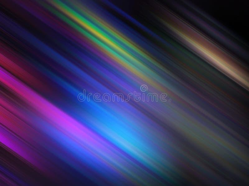 Listras coloridas diagonais ilustração stock