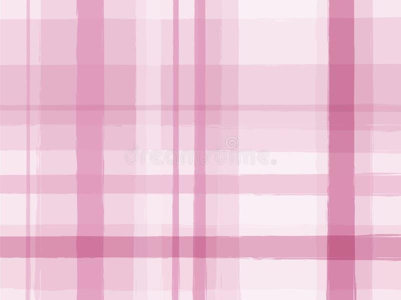 Listras cor-de-rosa ilustração royalty free