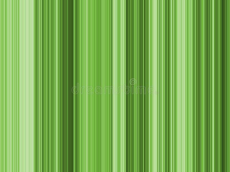 Listras do verde da arte Op ilustração stock
