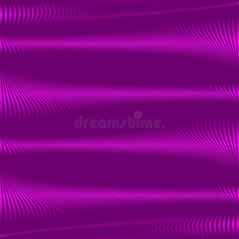 Listras onduladas abstratas do fundo roxo Fundo macio roxo do inclinação Contexto abstrato geométrico Vetor eps10 ilustração do vetor