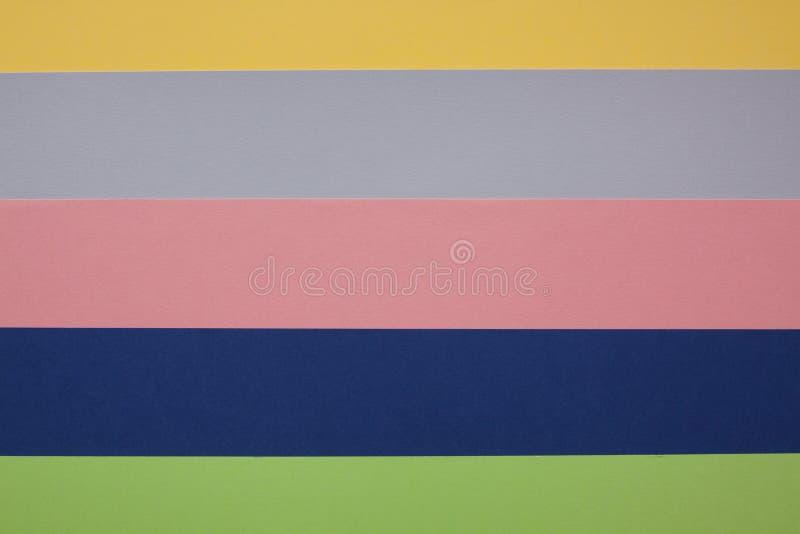 Listras paralelas coloridas foto de stock