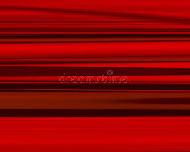 Listras vermelhas ilustração royalty free