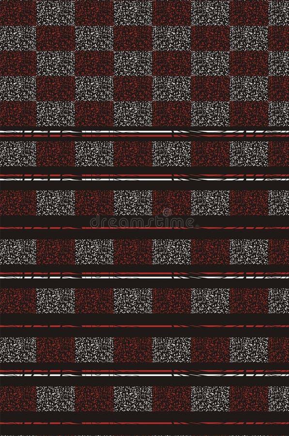 Listre o projeto no backgroung preto com as duas caixas textured pontilhadas s do ` da cor ilustração royalty free