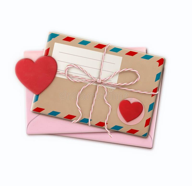 Listu miłosnego pojęcie ilustracji